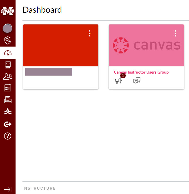 Confirm in Canvas