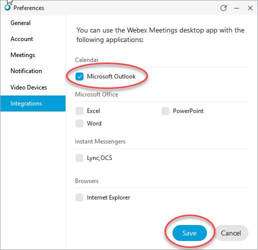 cisco webex outlook plugin