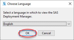 Language to install