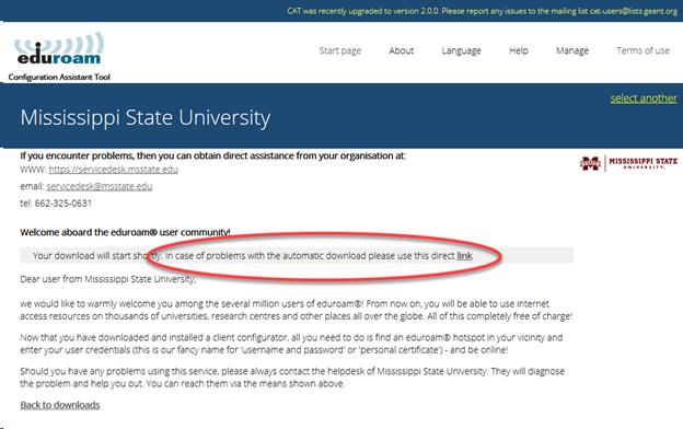 Mississippi State University download