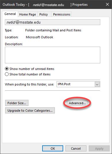 Advanced button click in menu