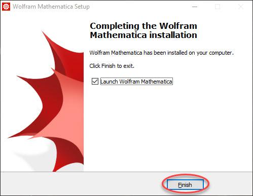 Mathematics Installation Finished